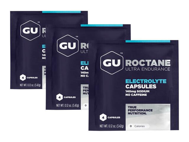 GU Energy Roctane Electrolyte - Nutrition sport - 12 pièces